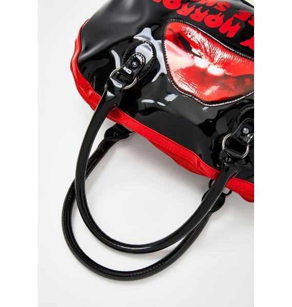 Rock Rebel Rocky Horror Picture Show Lips Handbag