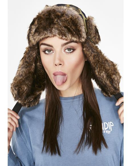 Nerm Camo Aviator Hat