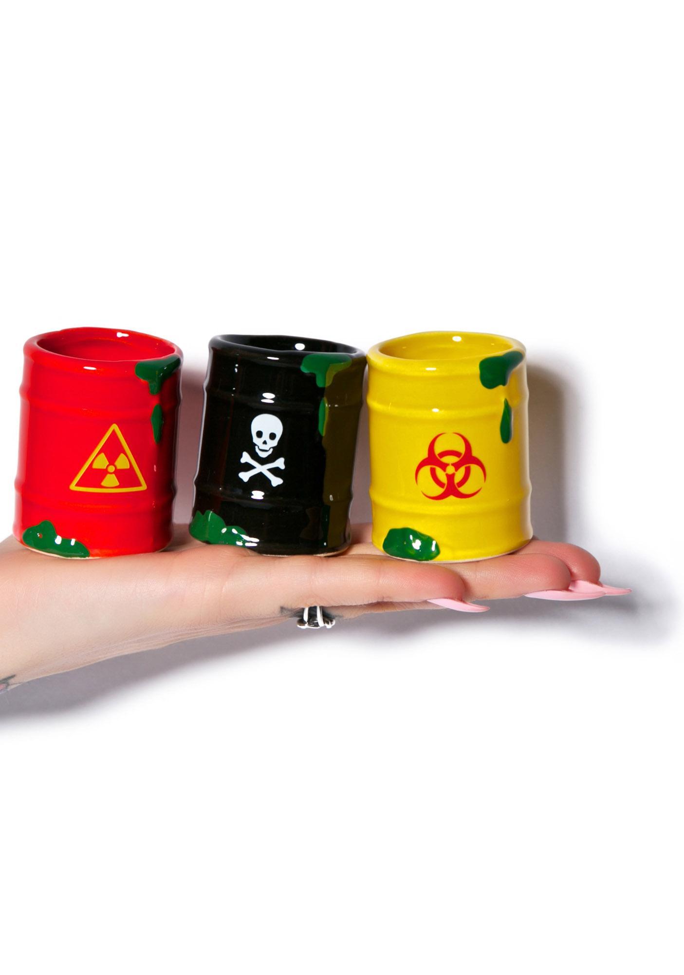 Toxic Waste Shot Glass Set