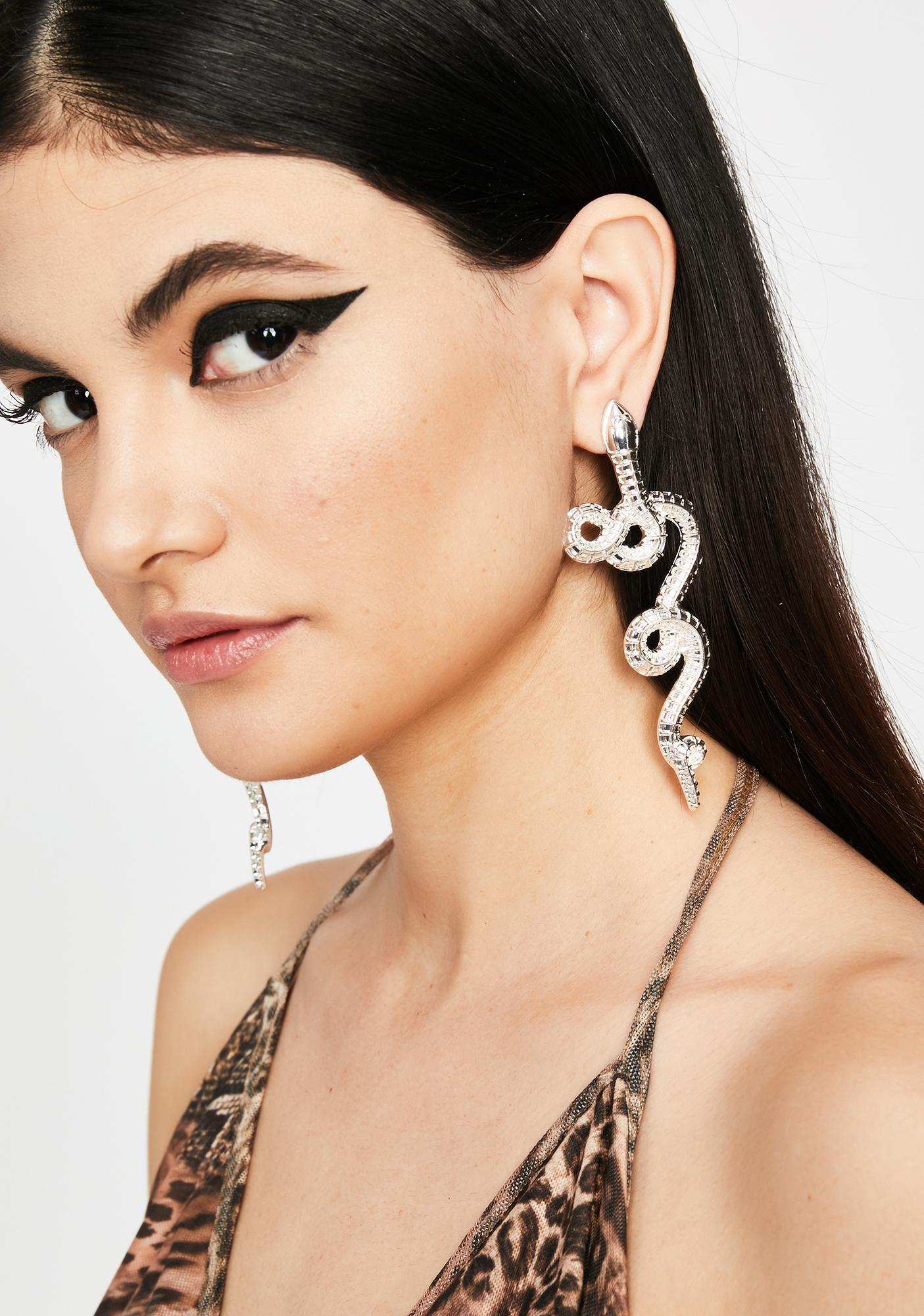 Toxic Tongue Statement Earrings