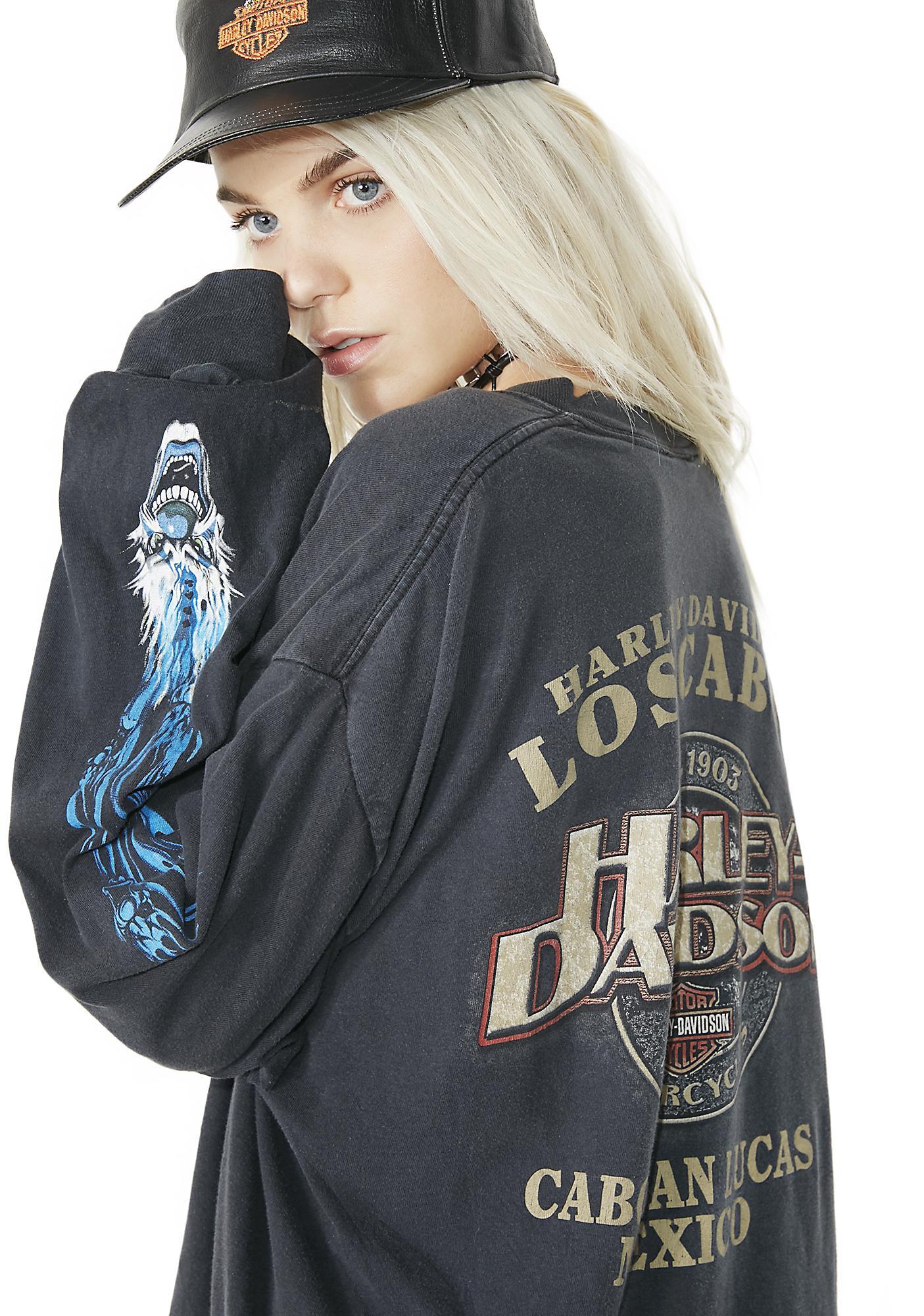 Vintage Harley Davidson Los Cabos Long Sleeve Tee