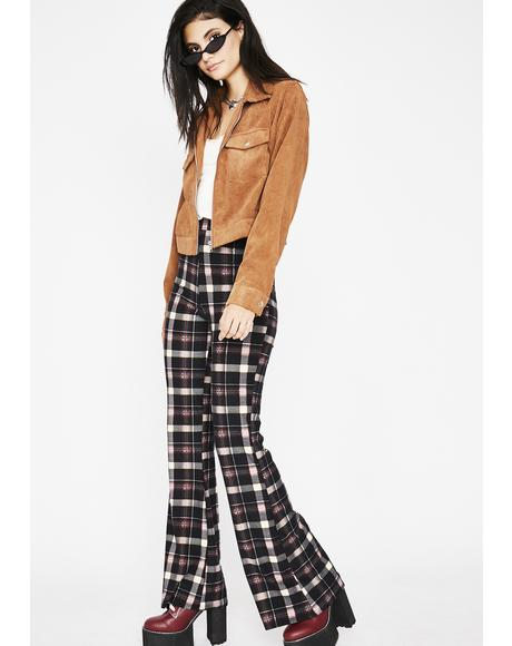 Charm School Dropout Plaid Pants