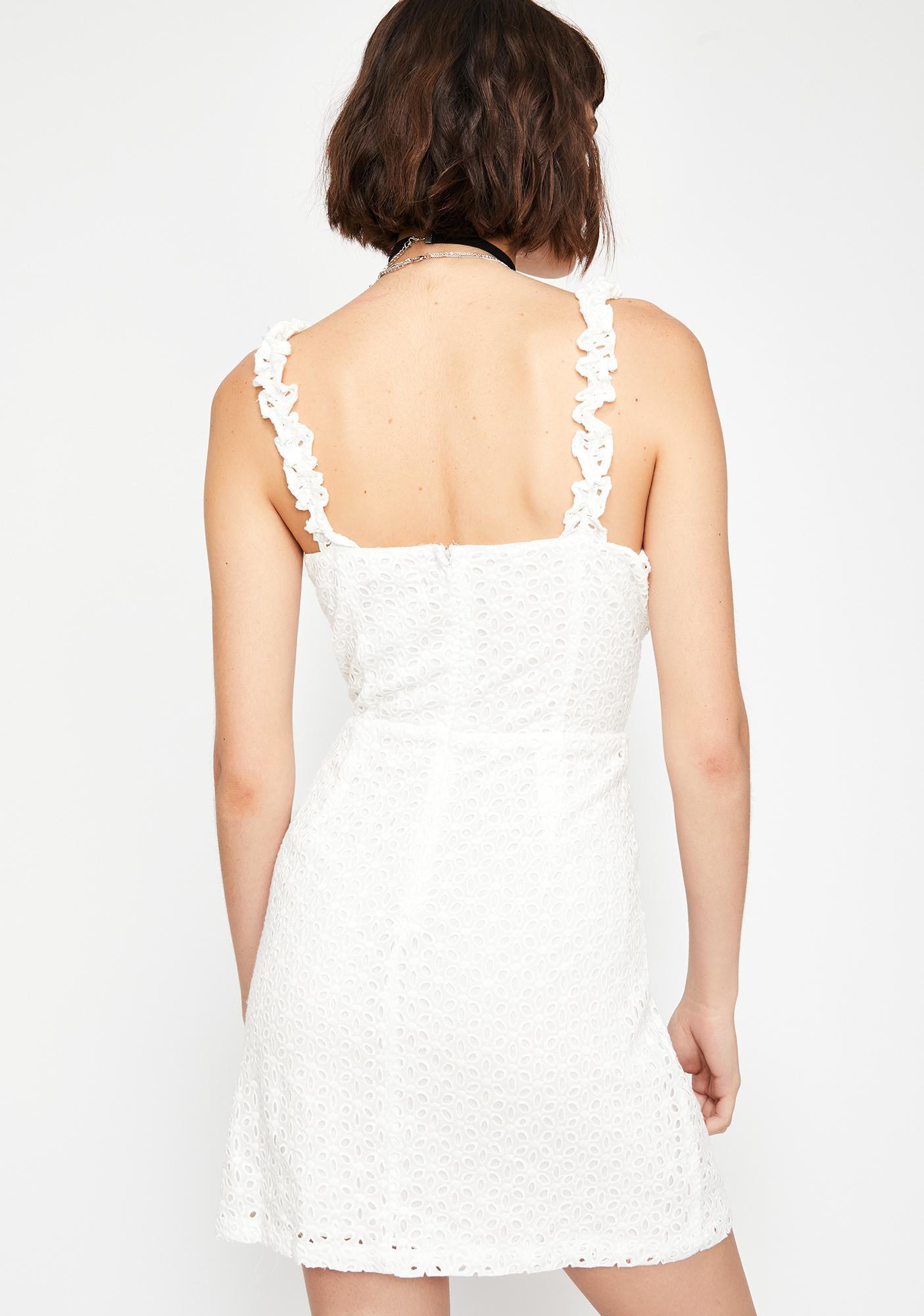 Divine Daze Lace-Up Dress