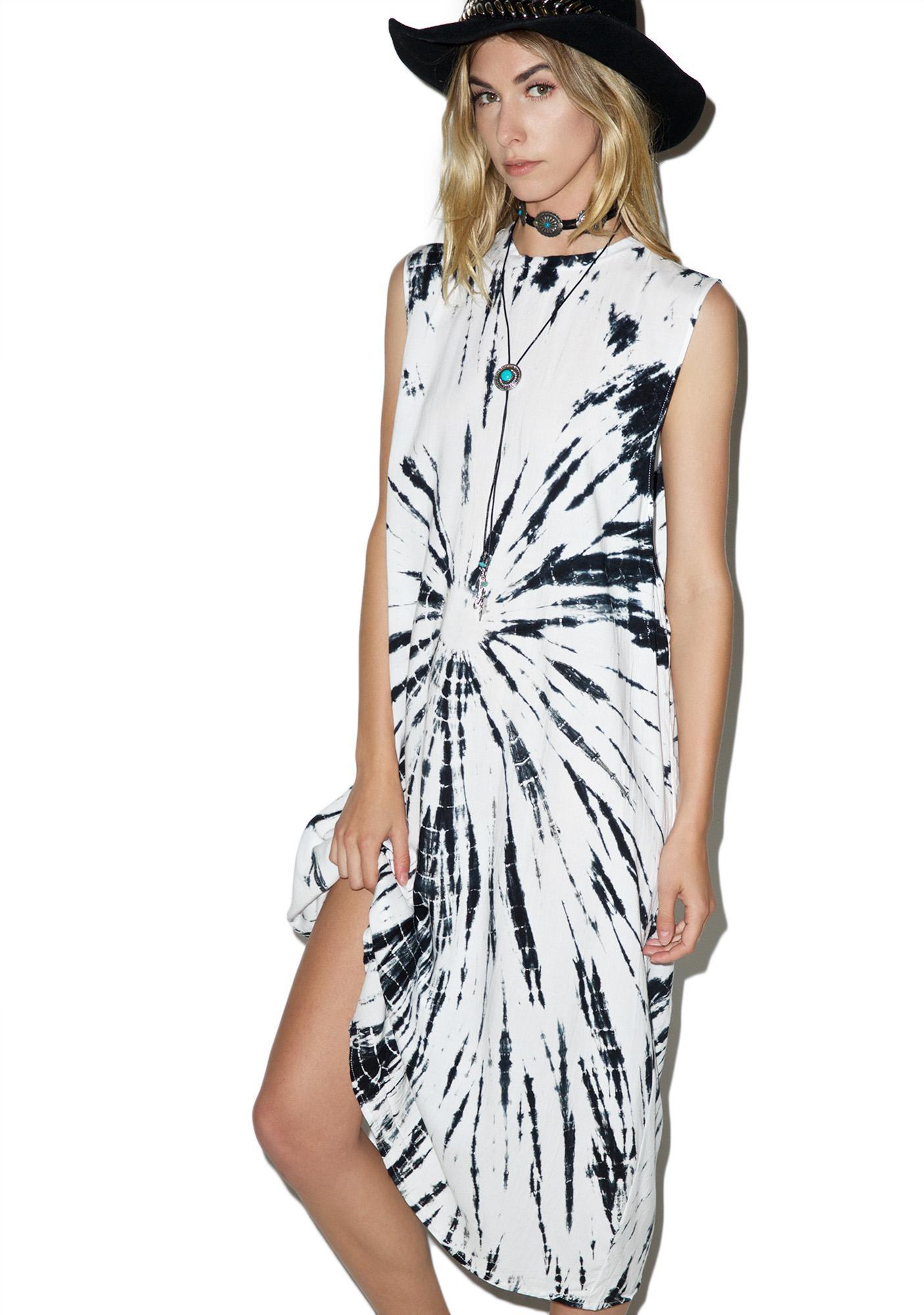 Motel Tie Dyed Lauren Dress