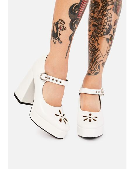 Angel Growing Up Platform Heels