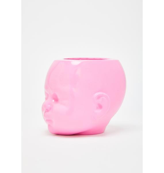 The Blackened Teeth Baby Doll Head Pot