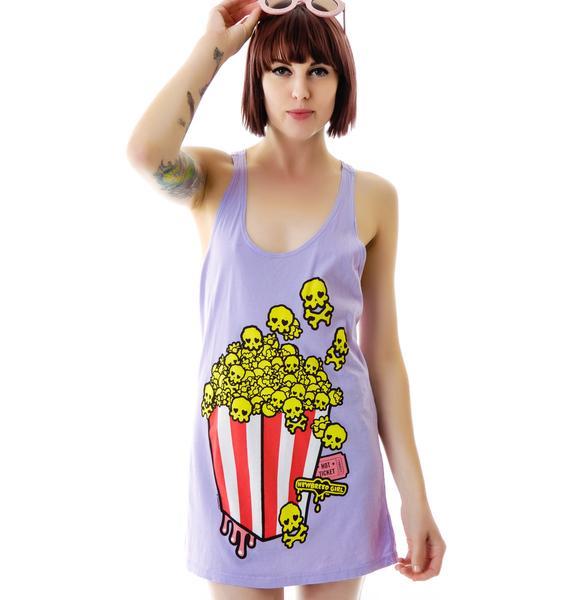 New Breed Girl Skully Popcorn Tank