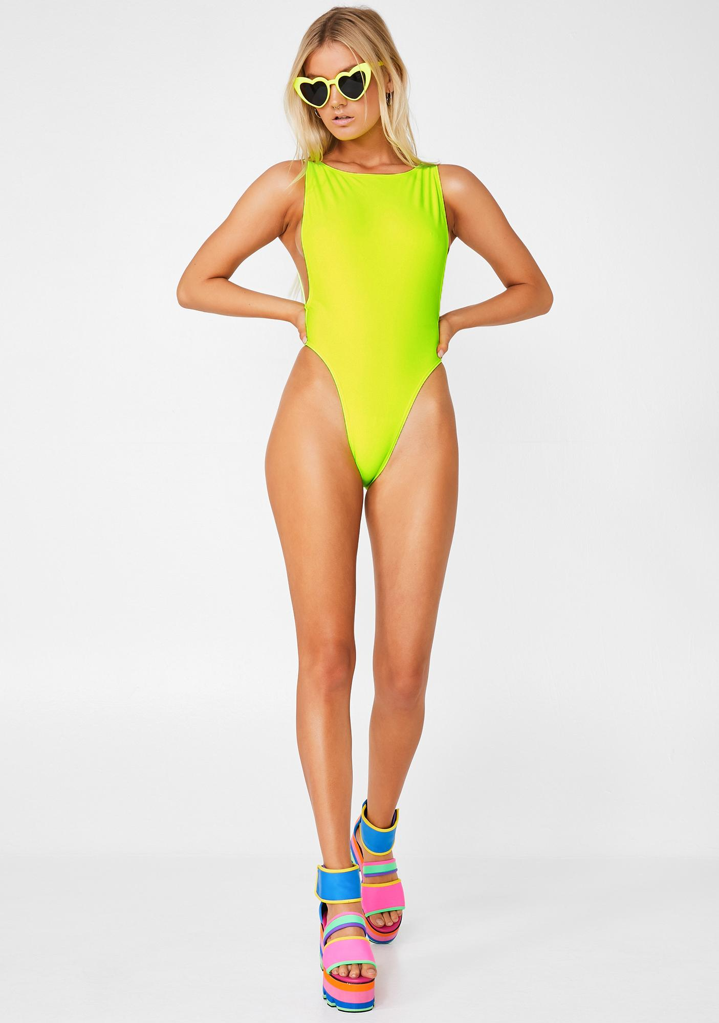 Current Mood Shock Wave One Piece Swimsuit