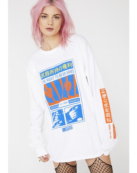 Right To Bear Arms Long Sleeve Tee