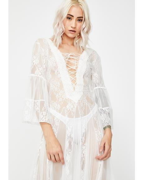 Torn N' Lovelorn Lace Dress