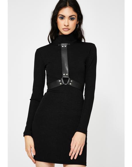 Hard To Handle Mini Dress