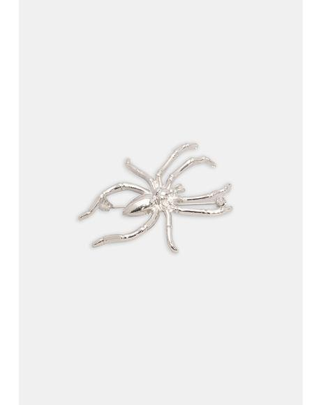 Eight Legged Creep Enamel Pin