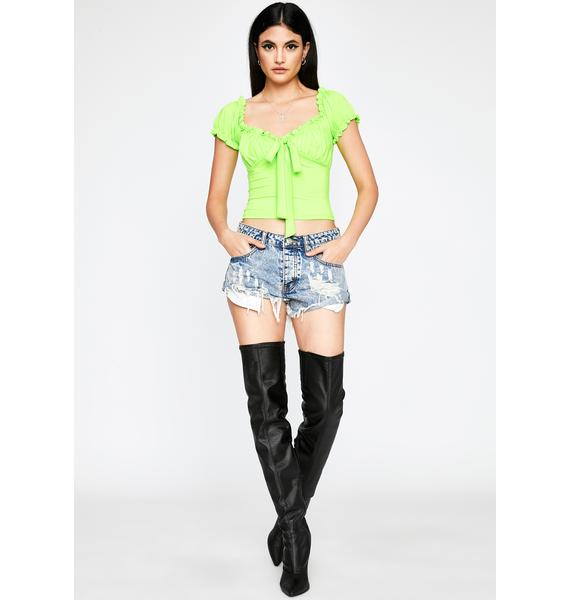 Atomic Downtown Spirit Crop Top