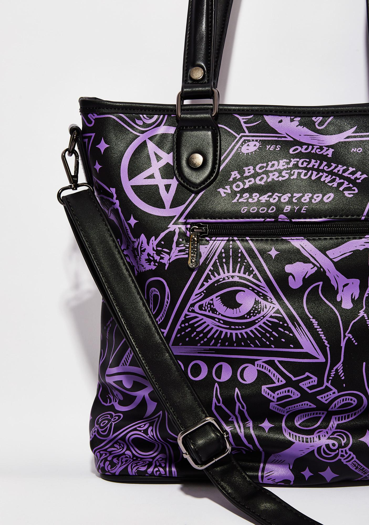 Killstar Miss Morbid Tote Handbag