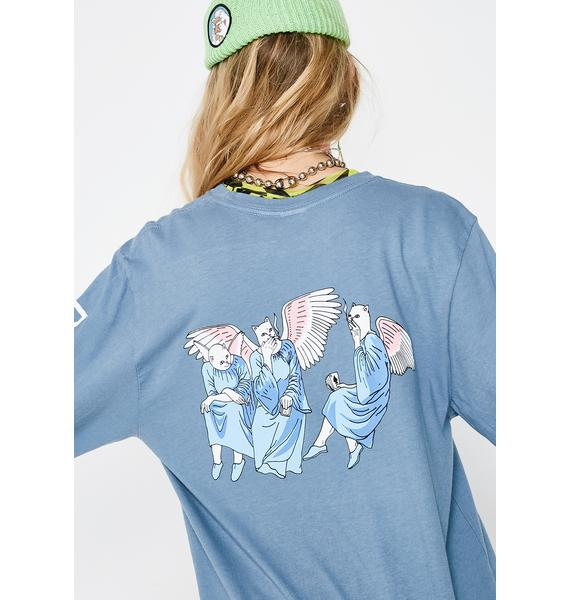 RIPNDIP Sky Heaven And Hell Long Sleeve