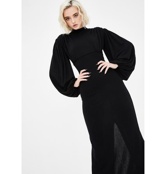 Kiki Riki Mortal Thoughts Maxi Dress