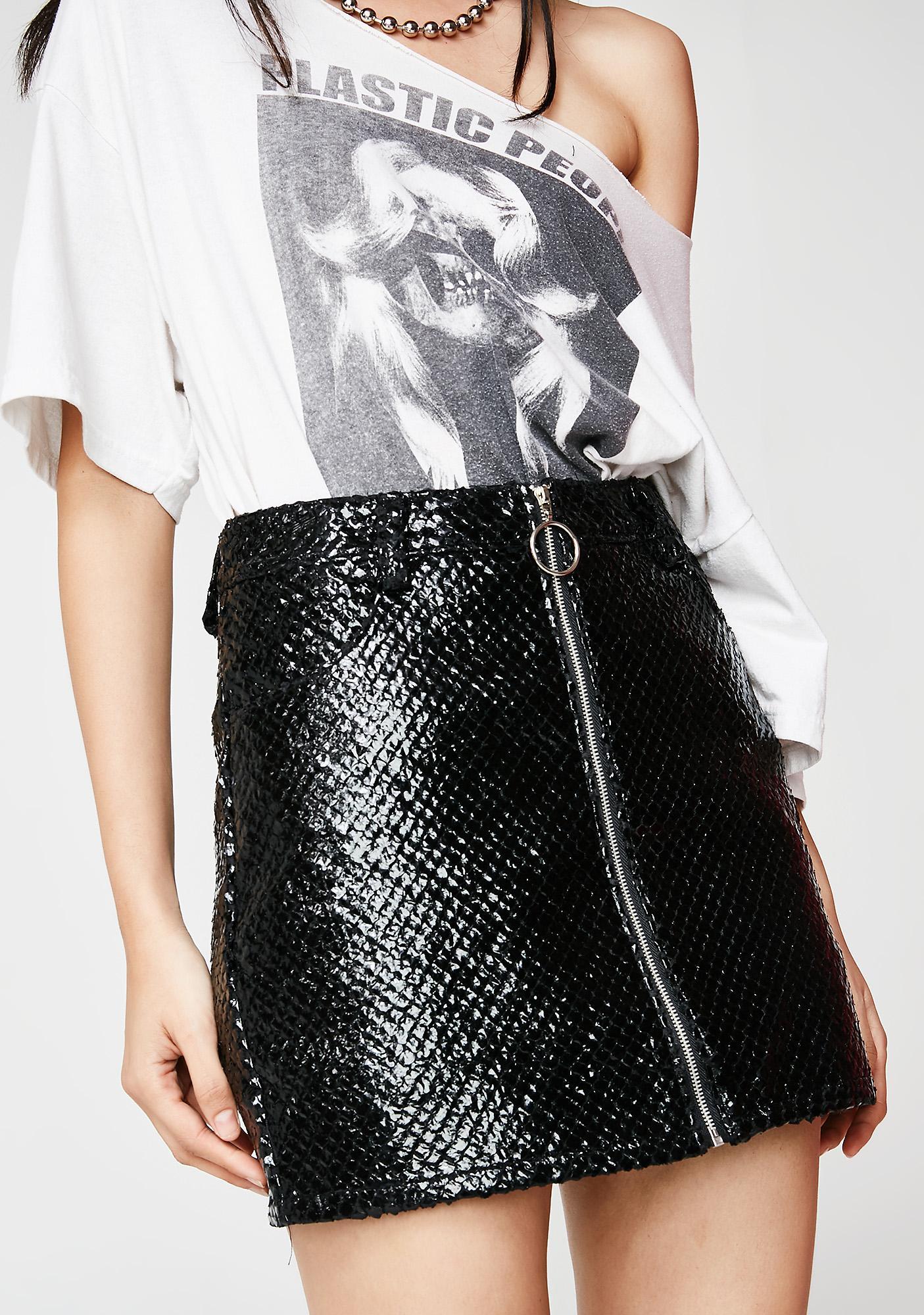 Onyx Dressed To Kill Mini Skirt