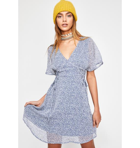 Royal Pursuit Of Happiness Floral Dress