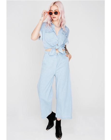 Denim Gone Bad Jumpsuit