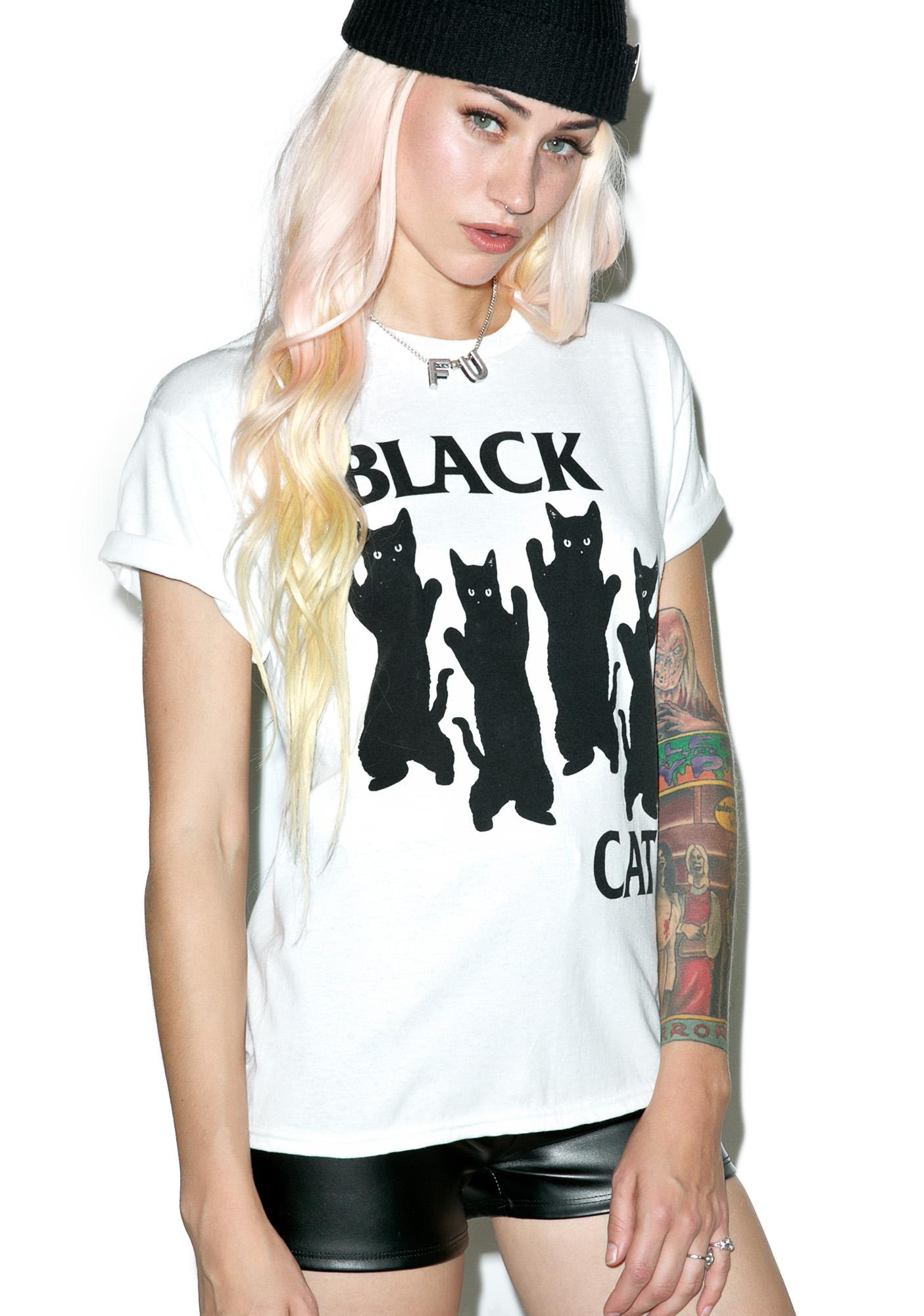Pop Killer Black Cat Tee