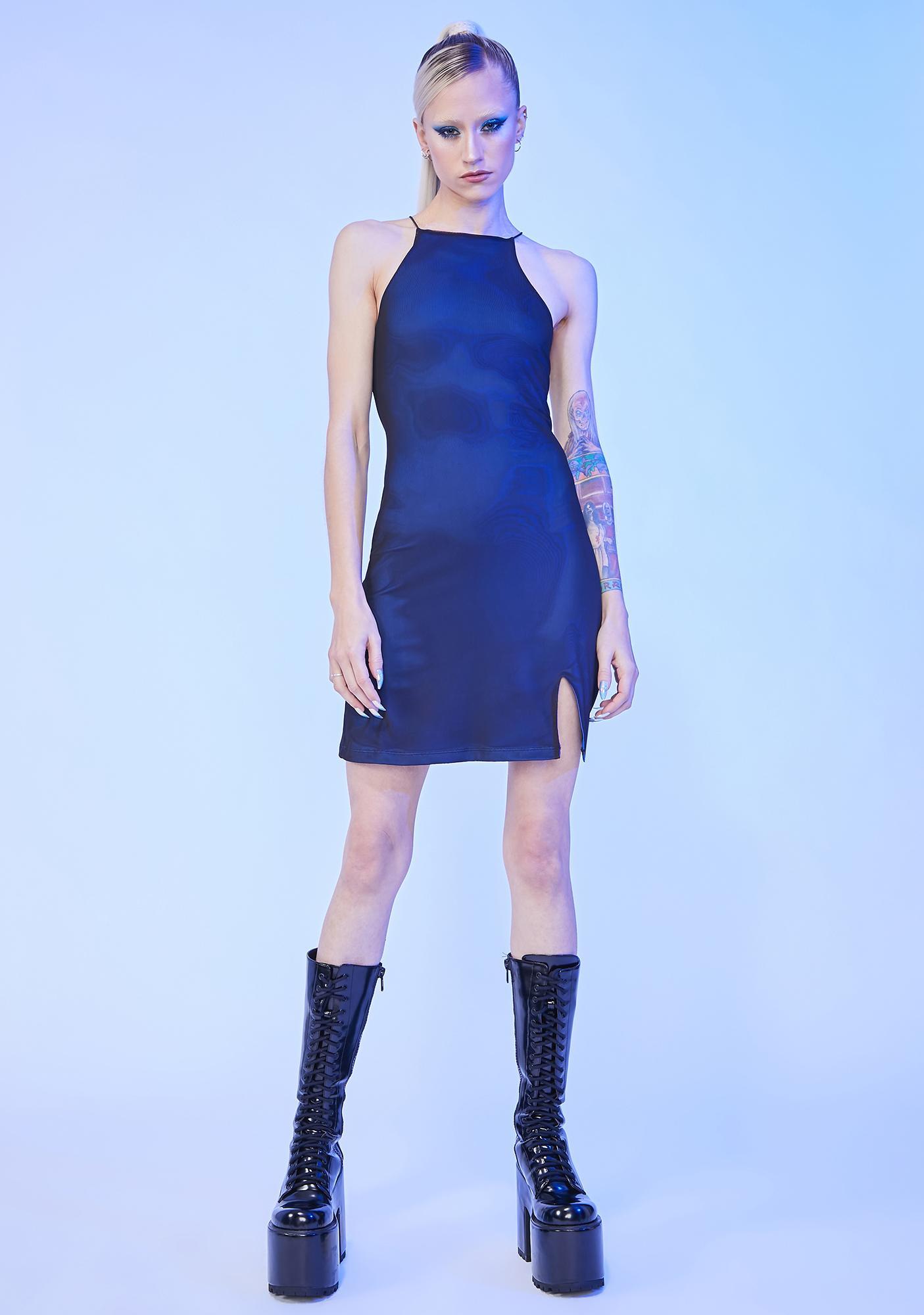 HOROSCOPEZ Hold The Drama Mini Dress