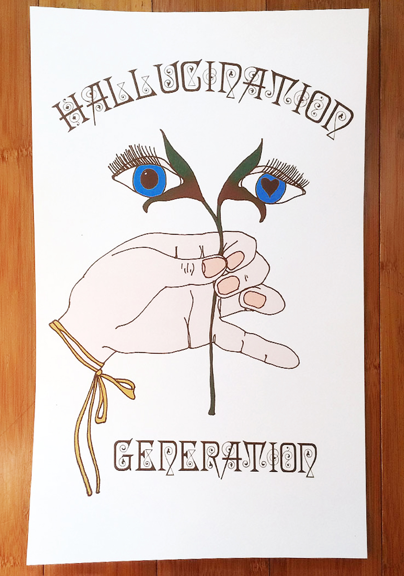 Sugarhigh + Lovestoned Hallucination Generation Poster