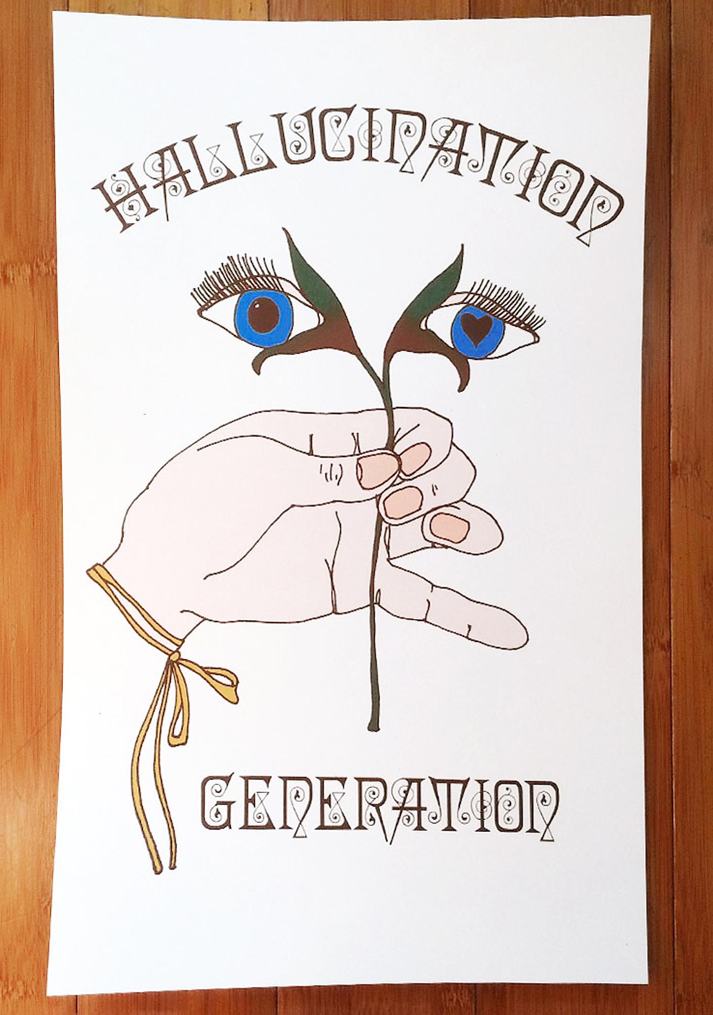 Sugarhigh + Lovestoned Hallucination Generation Poster