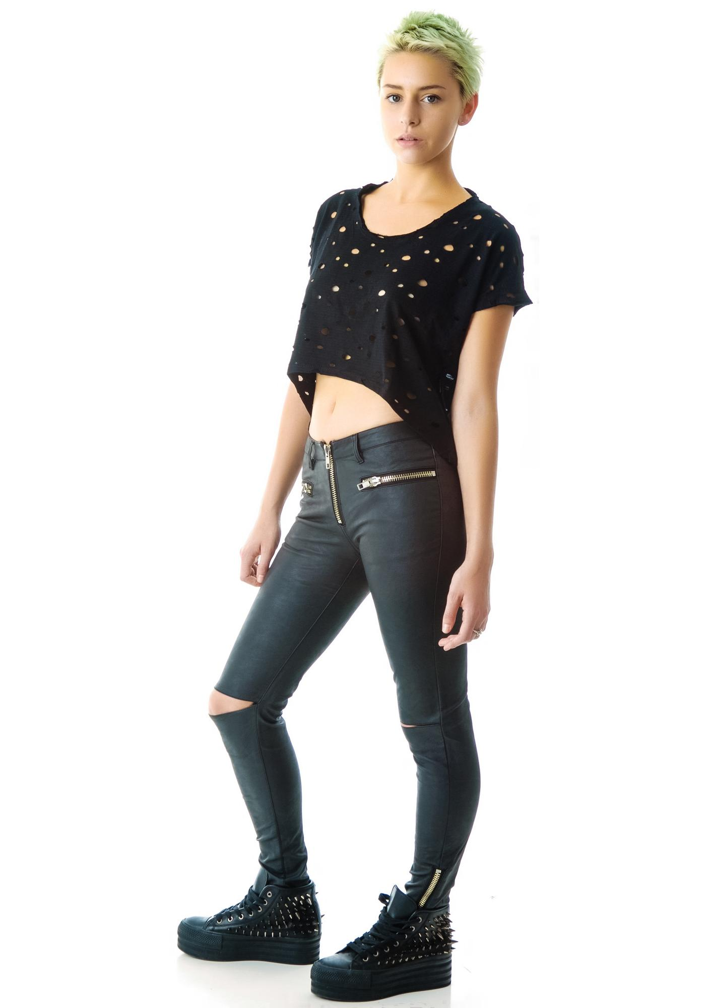 Tripp NYC Super Shot Crop Top