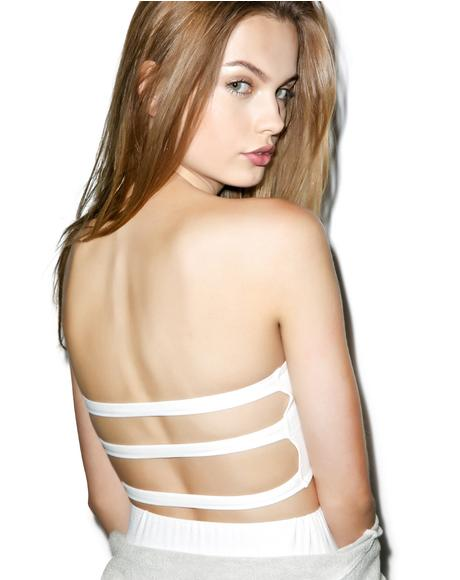 Triple Axel Strappy Bandeau
