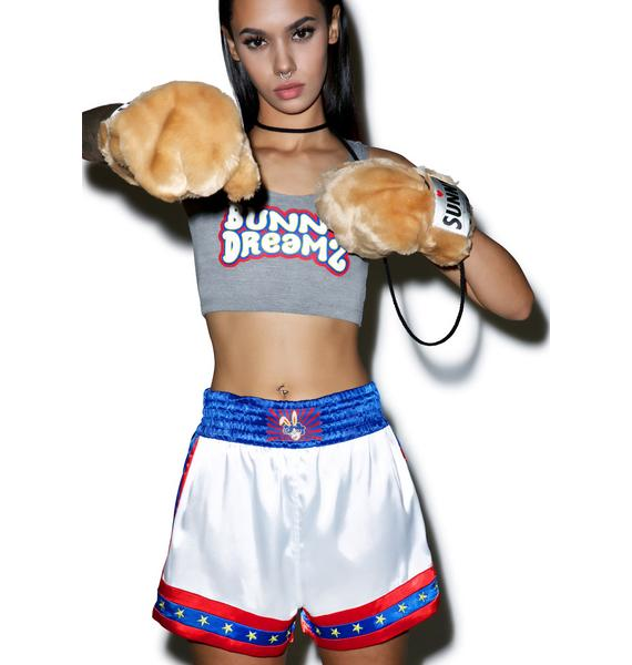 Bunny Dreamz Muay Thai Satin Shorts