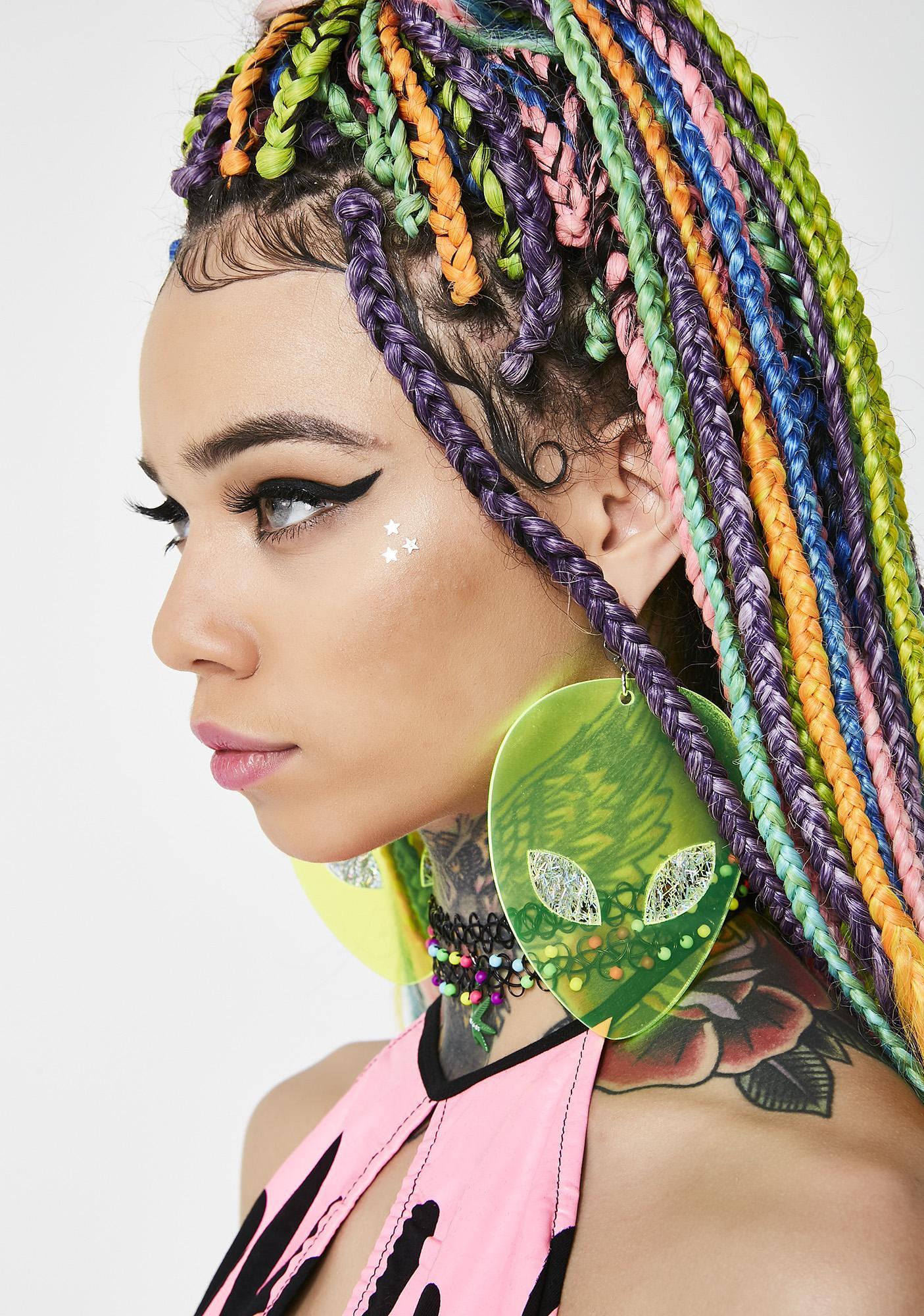 Marina Fini Alien Earrings