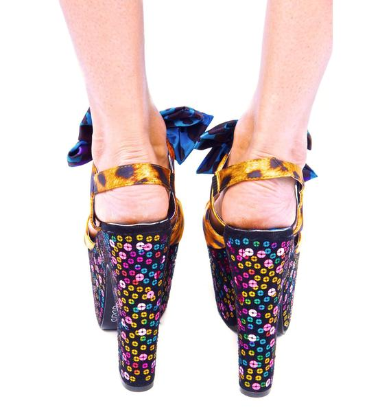 Iron Fist Treasure Box Super Platform Shoes