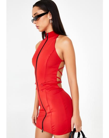 Hot Iris Mini Dress