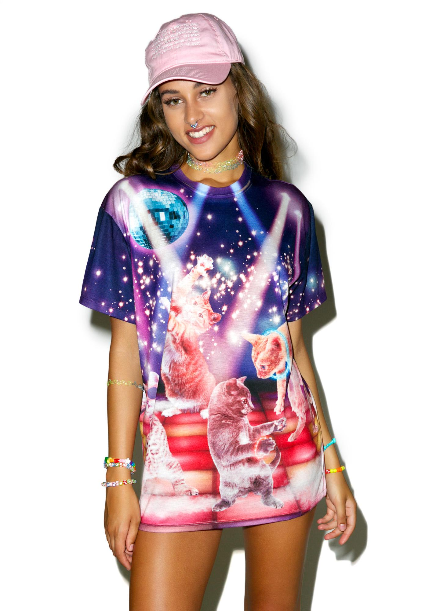 Clubbing Cats Tee