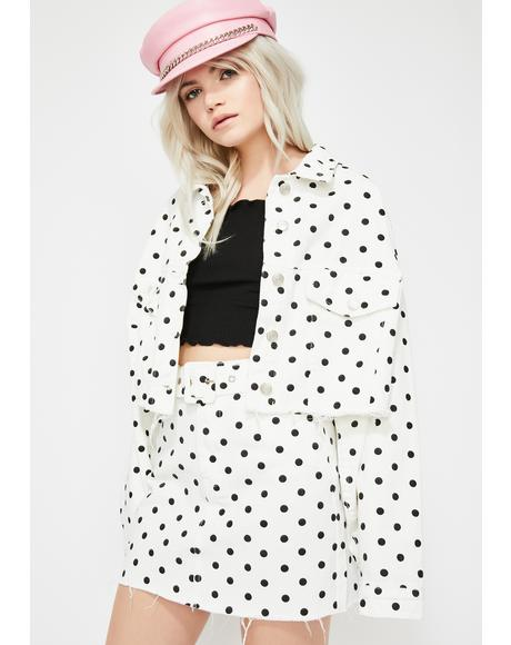 Sugar Town Polka Dot Jacket