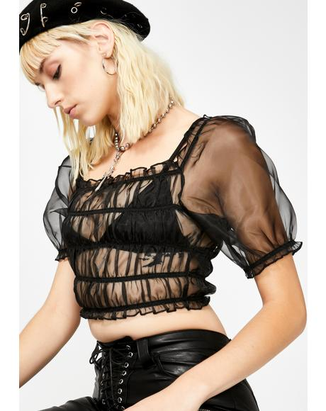 Treasured Soul Sheer Top