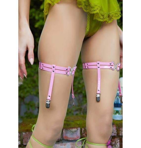 Hook On A Feeling Leg Garters