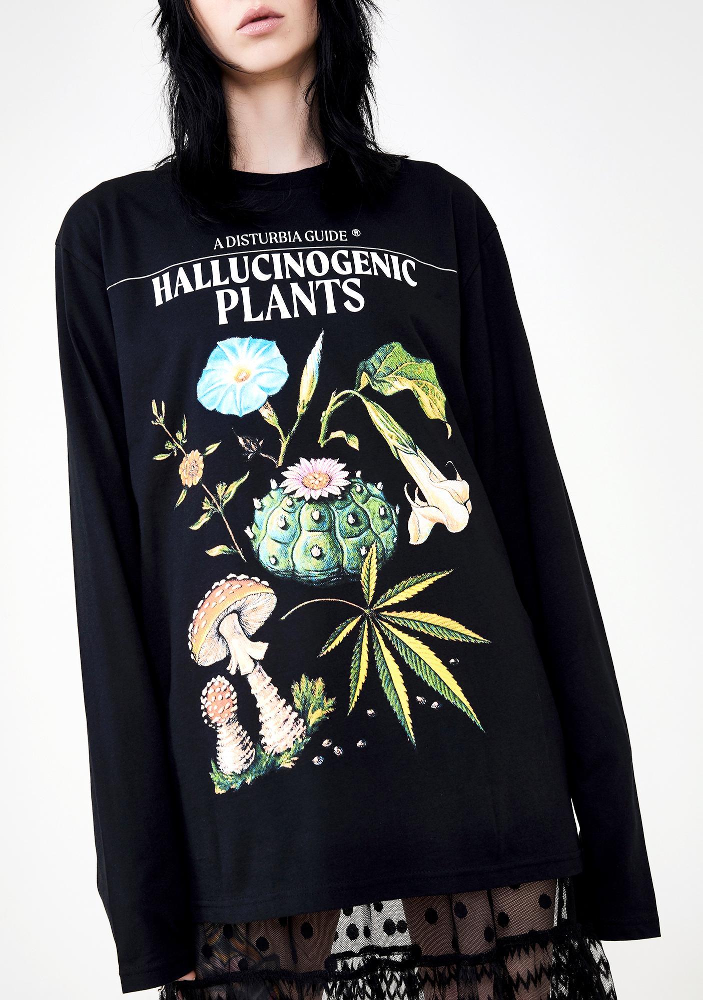Disturbia Plants Graphic Tee