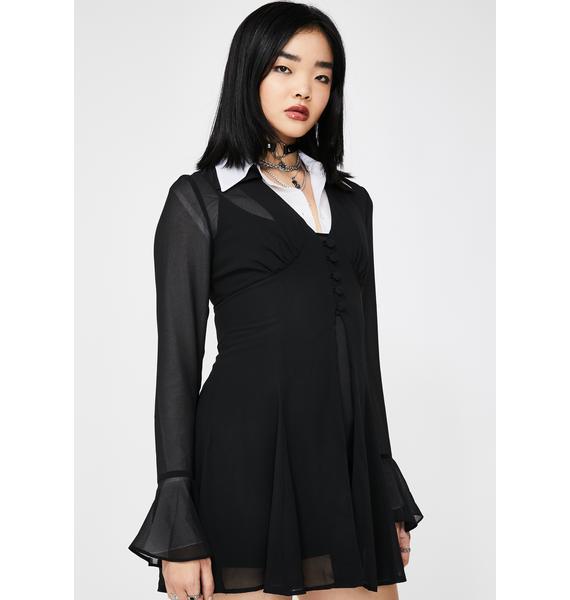 Dolls Kill x The Craft Deadly Secret Babydoll Dress