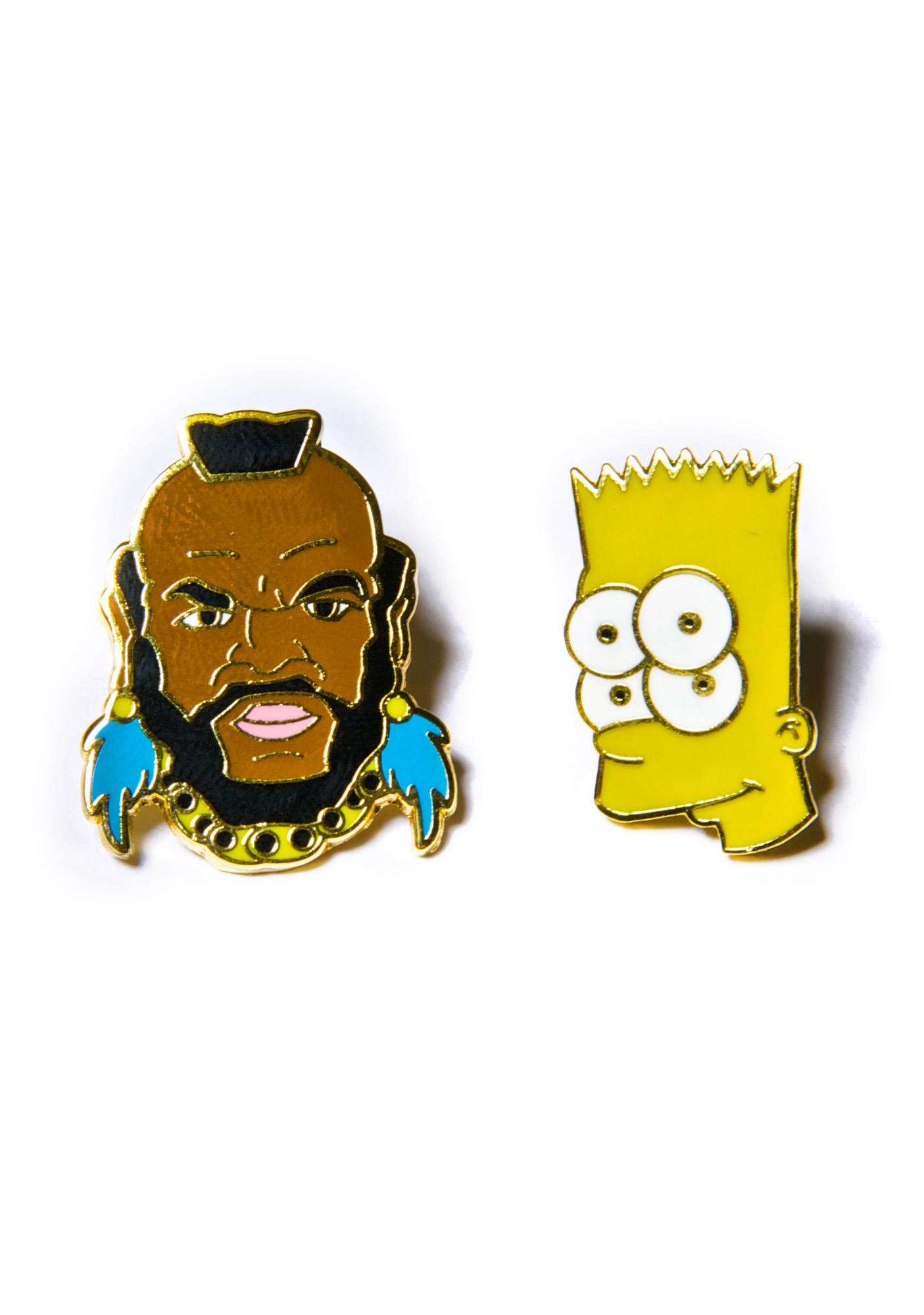 The Dope Team Pin Set