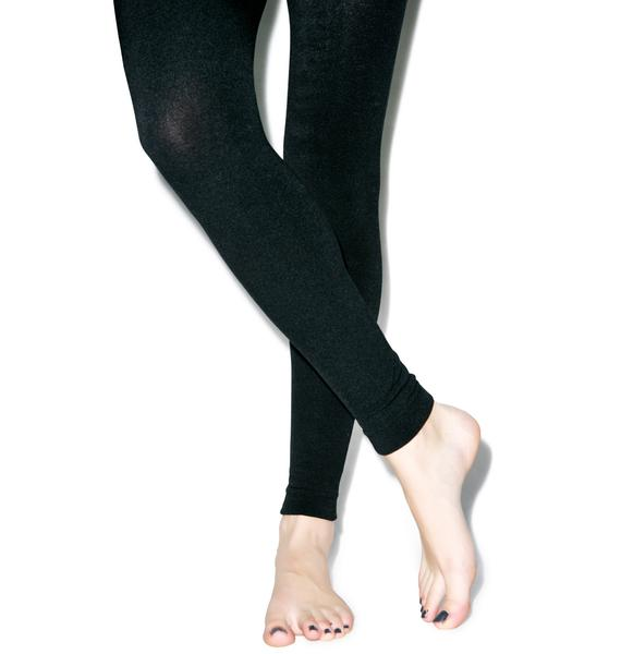 Plush Fab Footless Tights
