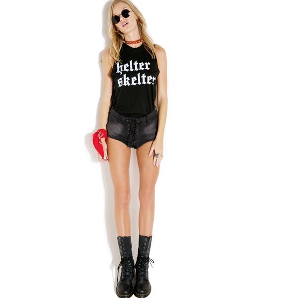 Local Boogeyman Helter Skelter Sleeveless Shirt