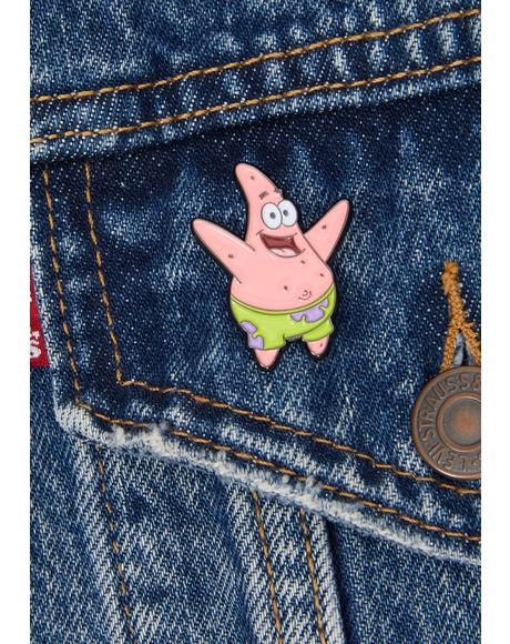Patrick Starfish Enamel Pin