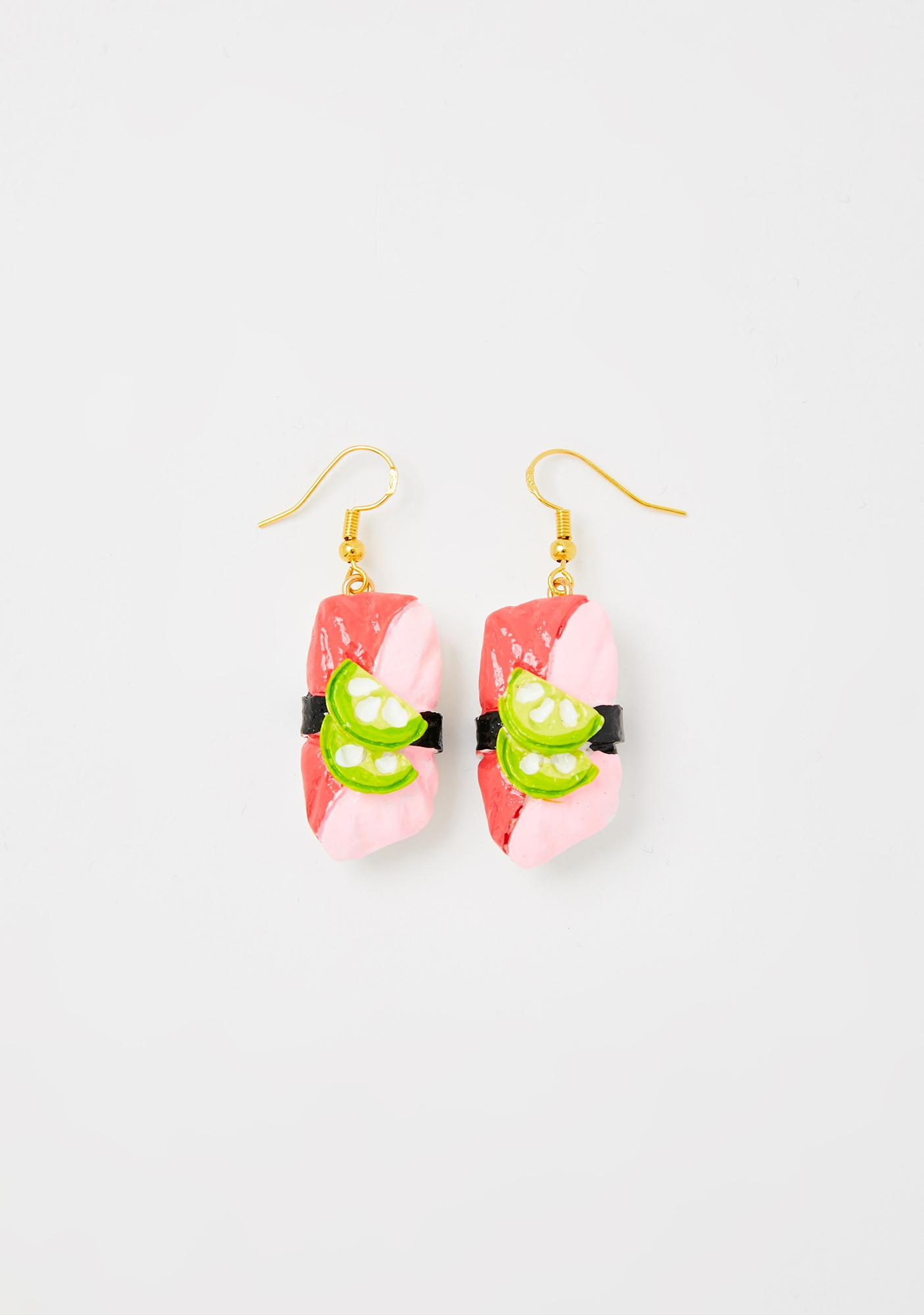 On The House Sushi Earrings