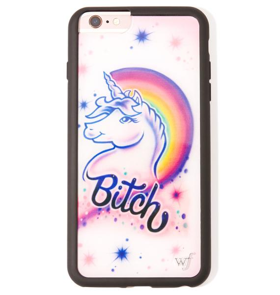 Wildflower Unicorn iPhone Case
