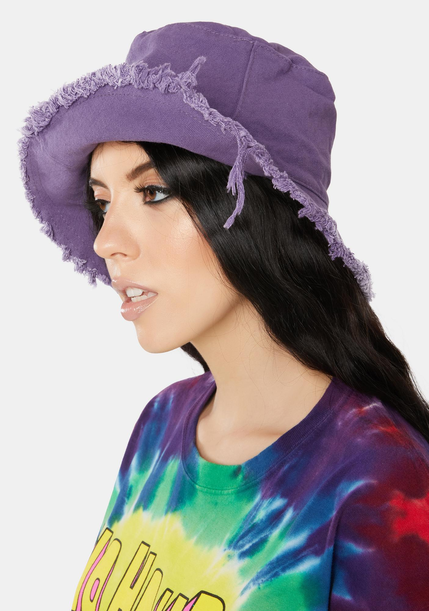 Totally Dude Frayed Bucket Hat