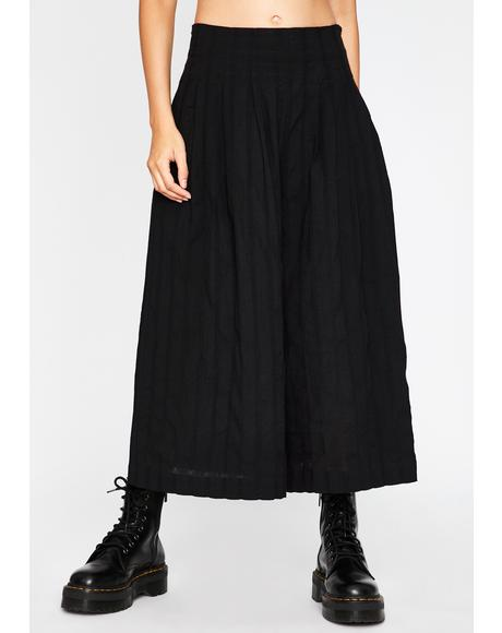 All Business Wide Leg Pants