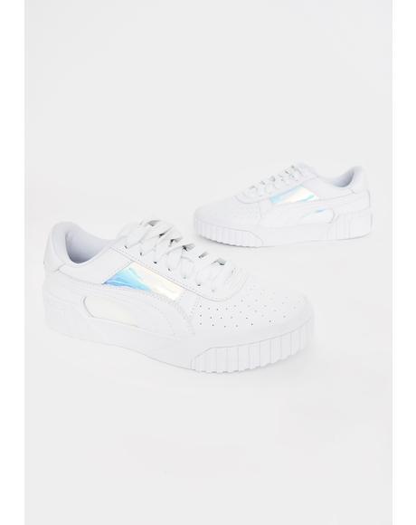 Iridescent Cali Glow Sneakers