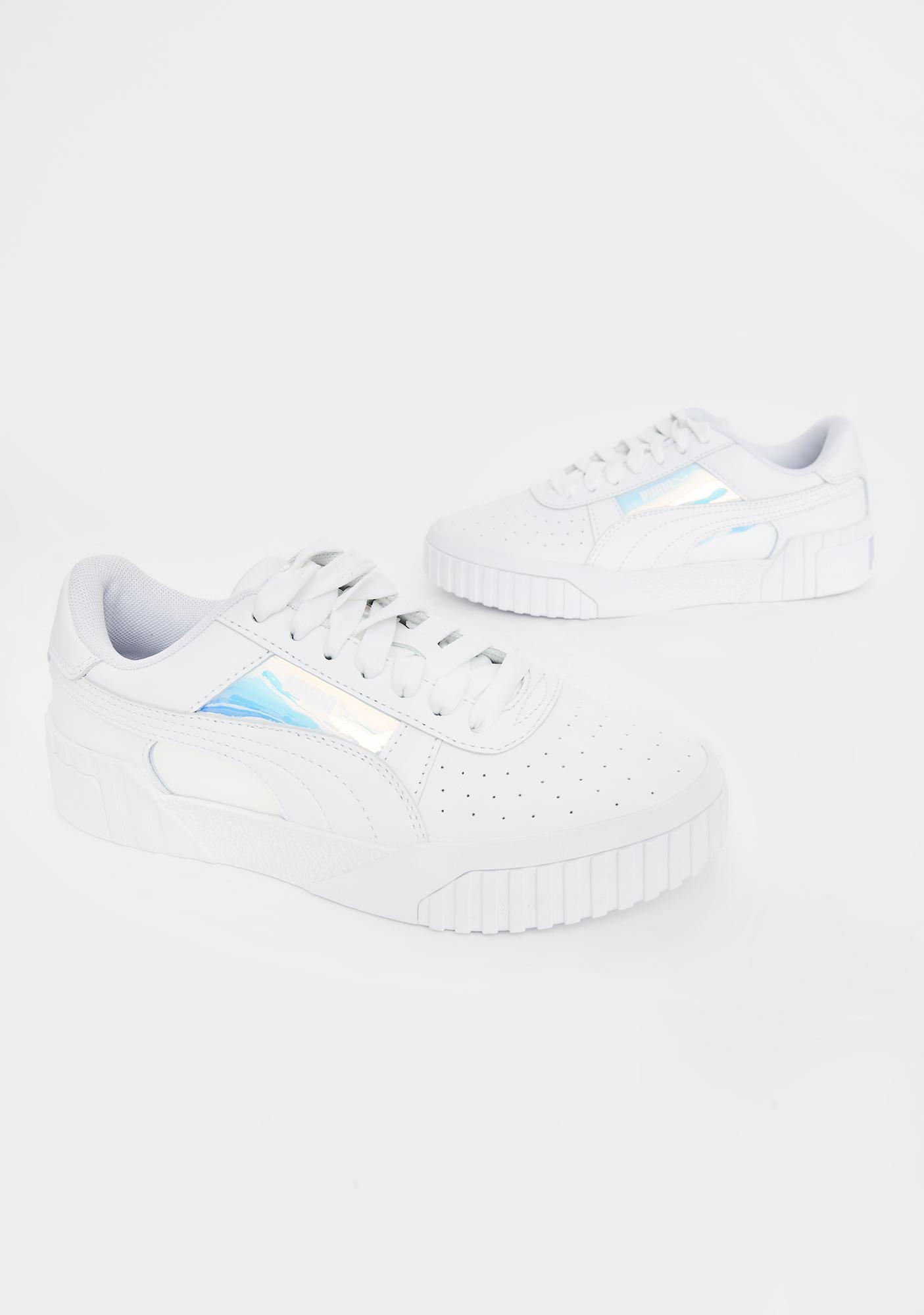 PUMA Iridescent Cali Glow Sneakers