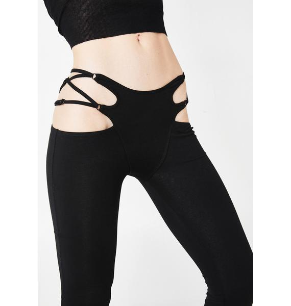 Club Exx Dirty Remix Thong Flares